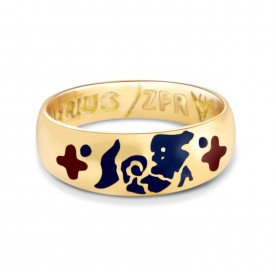 Zodiac Power Ring - Aquarius