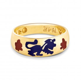 Zodiac Power Ring - Leo