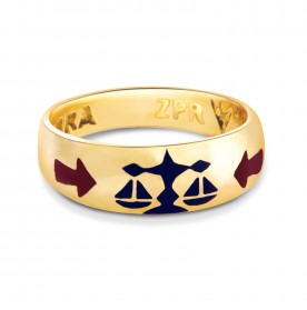 Zodiac Power Ring - Libra