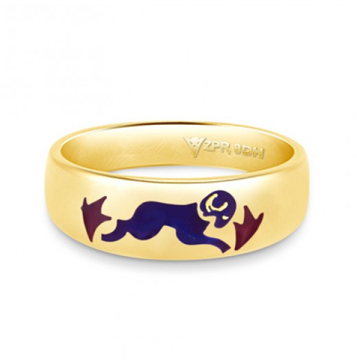 Zodiac Rashi Power Ring - Aries