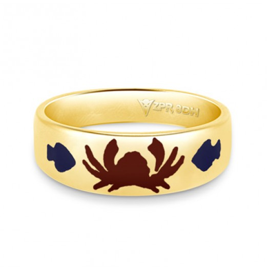 Zodiac Rashi Power Ring - Cancer
