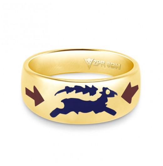 Zodiac Rashi Power Ring - Capricorn