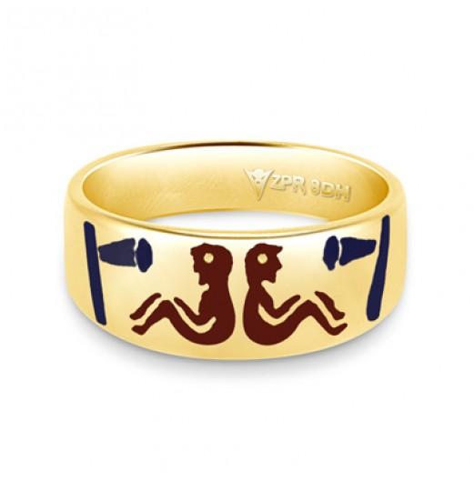Zodiac Rashi Power Ring - Gemini