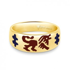 Zodiac Rashi Power Ring - Leo