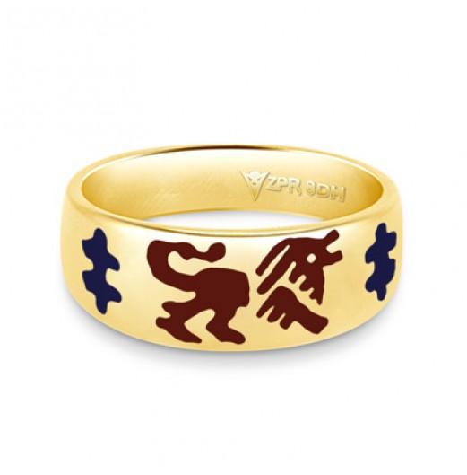 Zodiac Rashi Power Ring - Leo