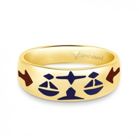 Zodiac Rashi Power Ring - Libra