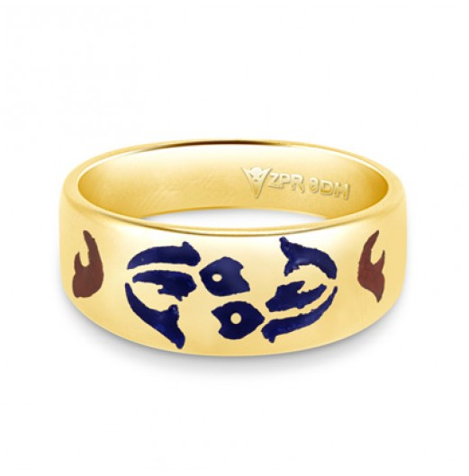 Zodiac Rashi Power Ring - Pisces