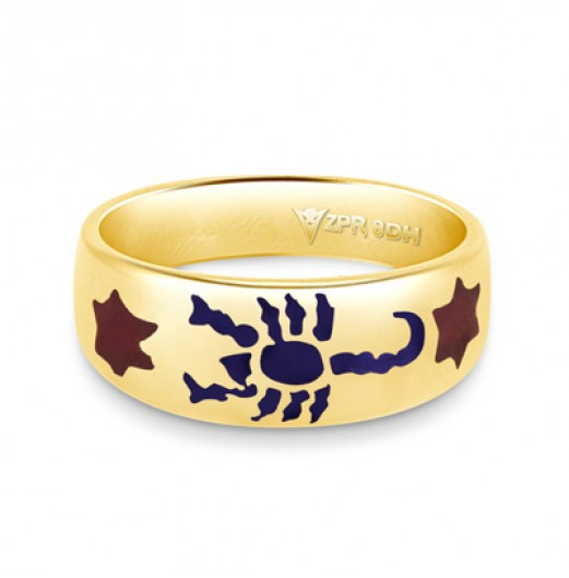 Zodiac Rashi Power Ring - Scorpio
