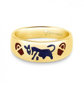 Zodiac Rashi Power Ring - Taurus