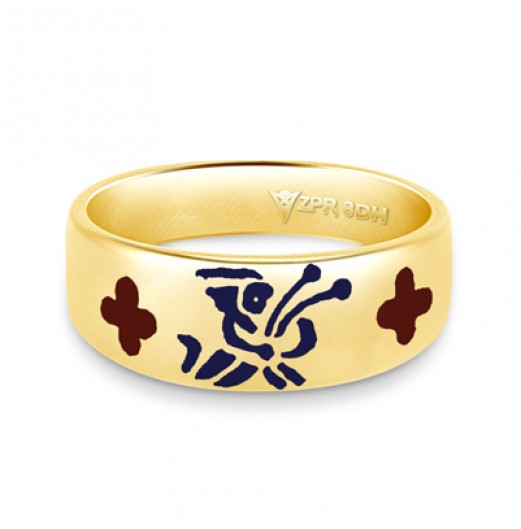 Zodiac Rashi Power Ring - Virgo