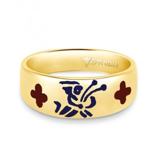 Zodiac Rashi Power Ring - Virgo