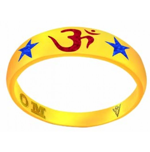 Zodiac Power Om Ring