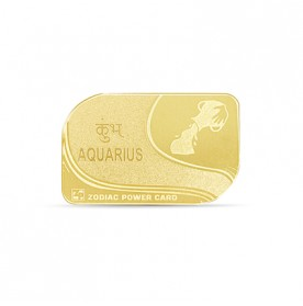 Zodiac Power Card - Aquarius