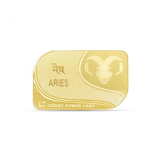 Zodiac Power Card - Aries