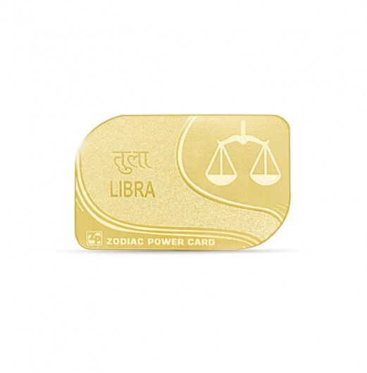 Zodiac Power Card - Libra