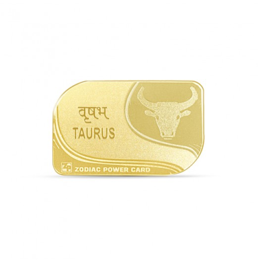 Zodiac Power Card - Taurus